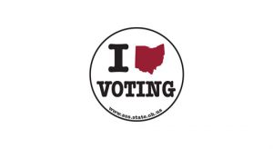 image stating I Love Voting - links to FAQs page